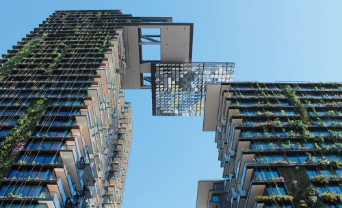 One Central Park. Sydney. Le plus grand jardin vertical. 2013