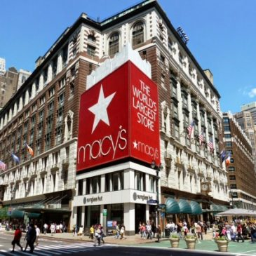 Macy's, New York. Le plus grand magasin du monde