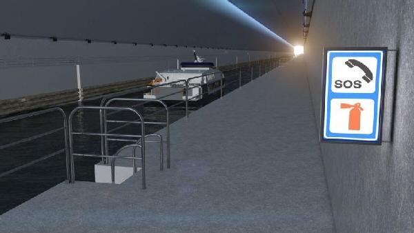 Tunnel Stad Ship. Norvège. Le plus grand tunnel à bateaux du monde. 2023
