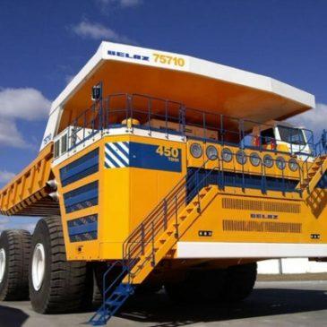 Belaz 75710. Biélorussie.  Le plus gros camion du monde. 2013
