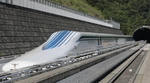 Maglev. Record du monde de vitesse pour un train au Japon. 2015