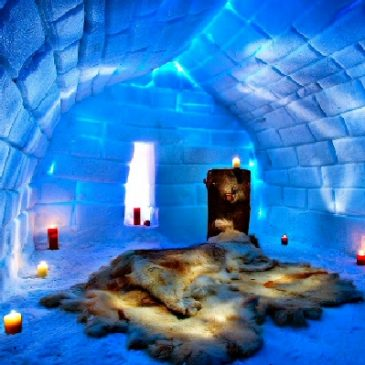 Icehôtel. Suède. Le plus grand hôtel de glace du monde. 1990