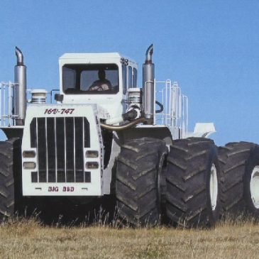 Big Bud 747. USA. Le plus gros tracteur du monde. 1977