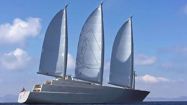 Sailing Yacht A. Le plus grand voilier du monde