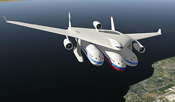 Clip-air. L'avion du futur