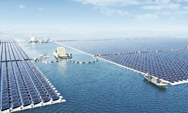 Les plus grands parcs photovoltaïques du monde en Chine