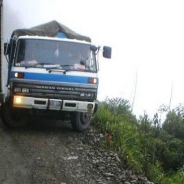 La route la plus dangereuse du monde. Bolivie