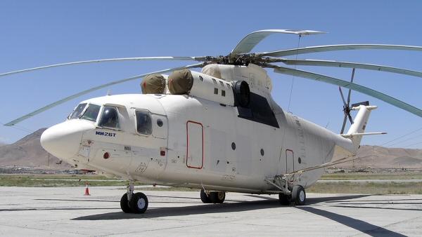 Mil-Mi-26. le plus gros hélicoptère du monde. Russie