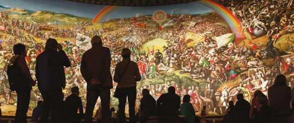 Le plus grand tableau du monde. Allemagne
